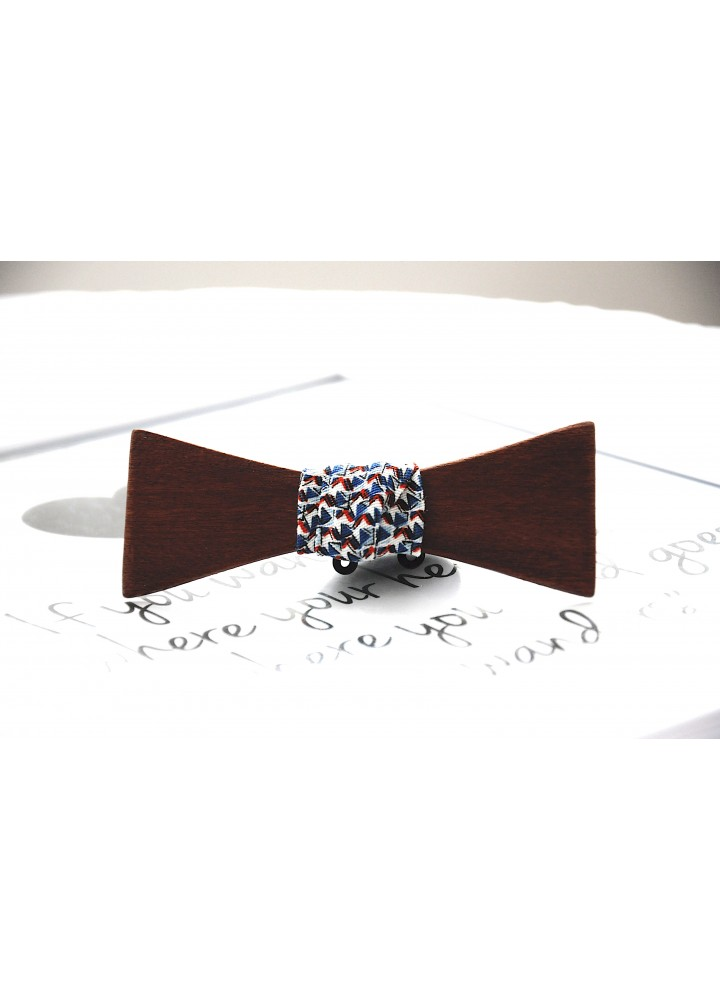 Wood bow tie Light