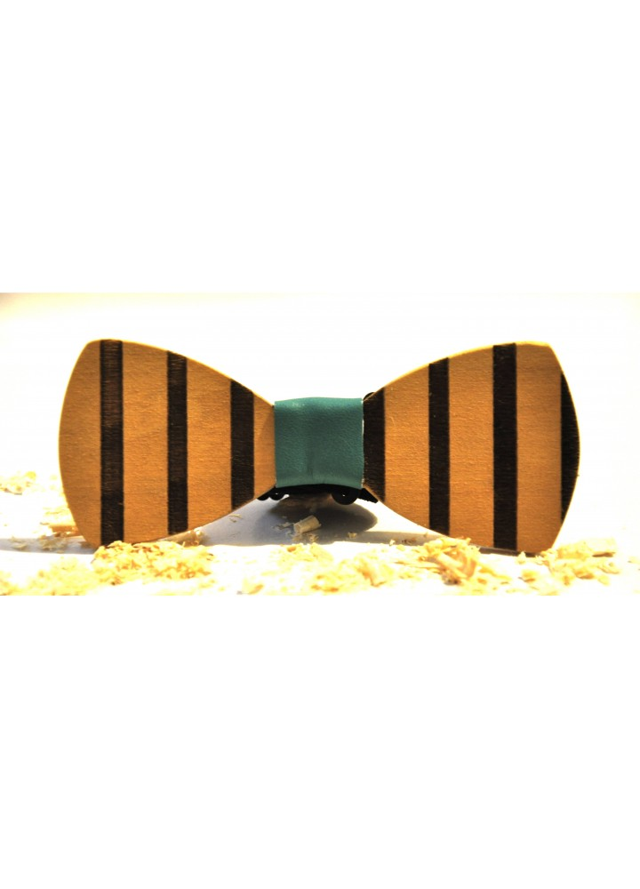 Wood bow tie Righetoni