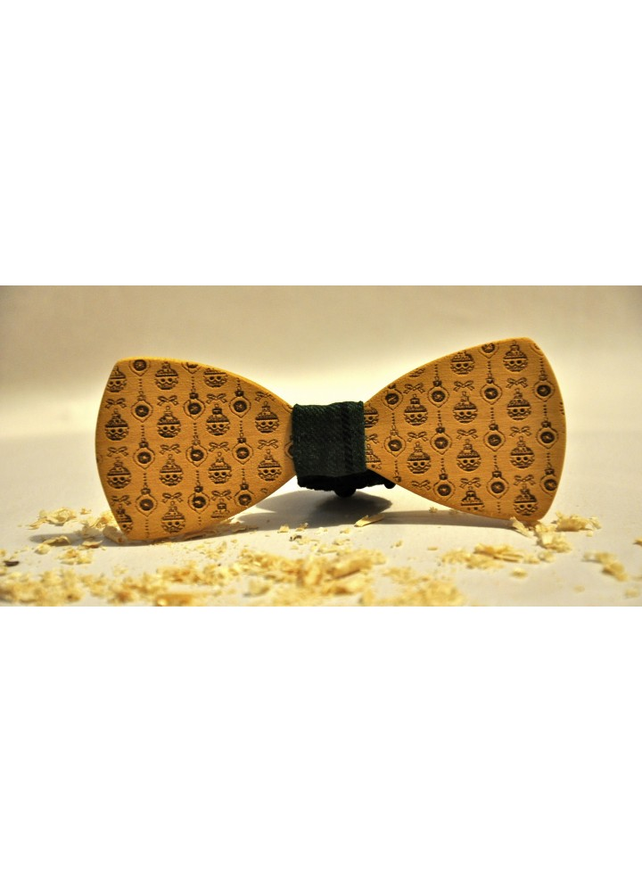 Wood bow tie Luce
