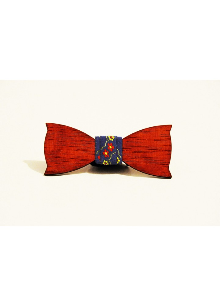Wood bow tie Colombo