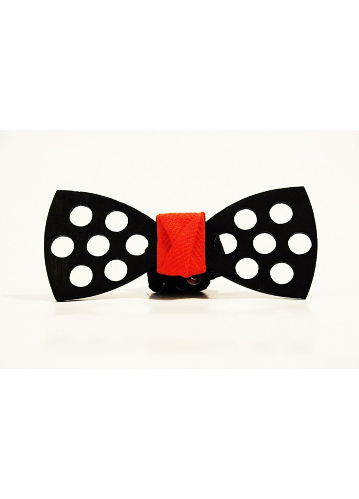 Wood bow tie Domenico