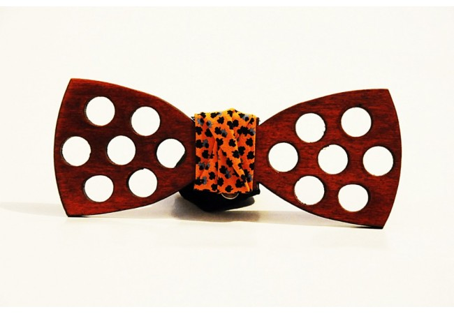 Wood bow tie Emiliano