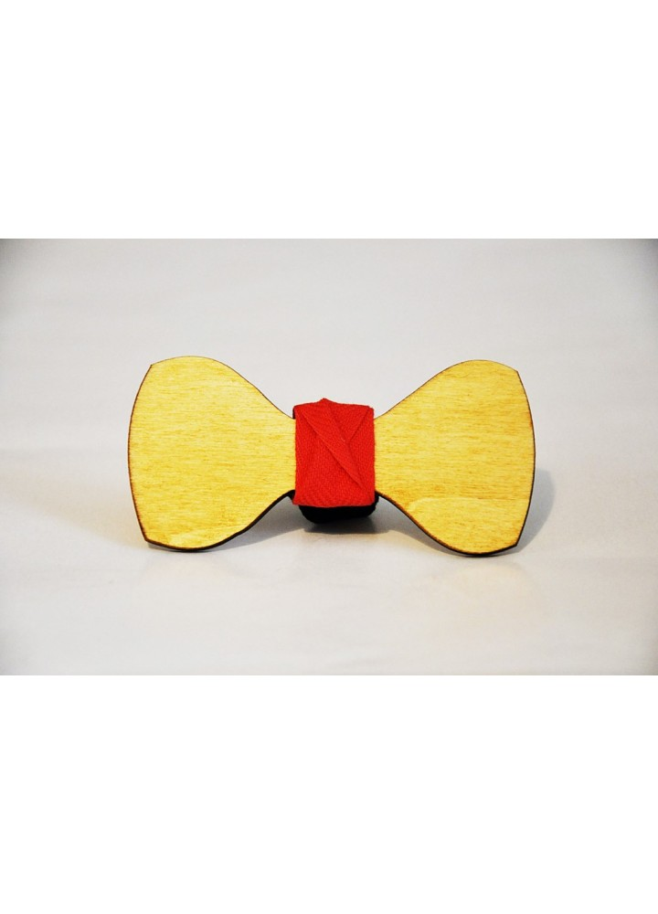 Wood bow tie Filippo