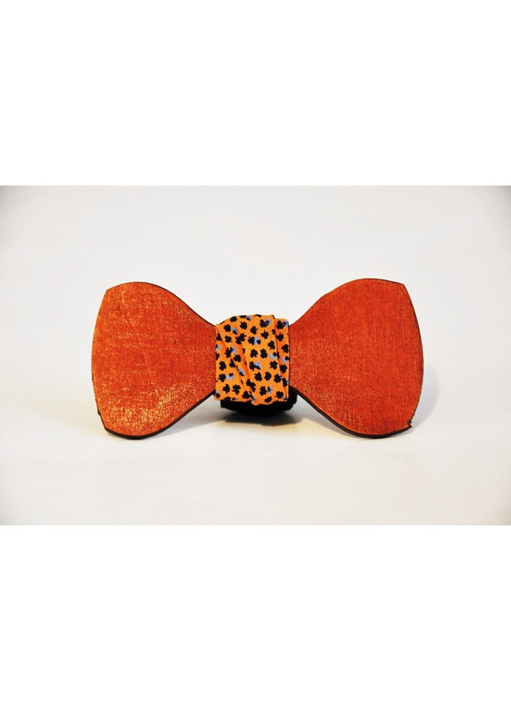 Wood bow tie Floriano