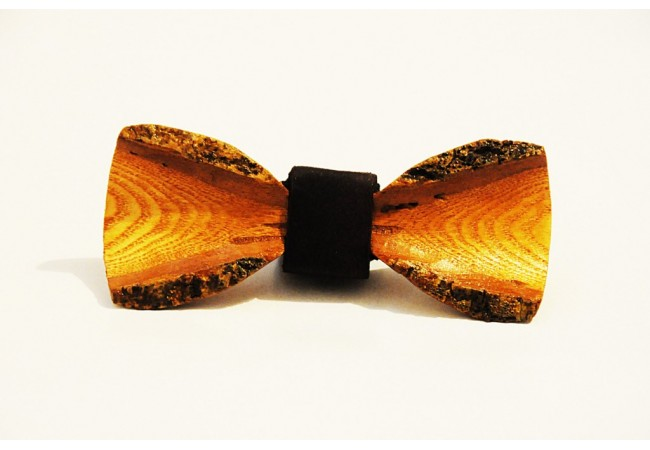 Wood bow tie carved Roberto