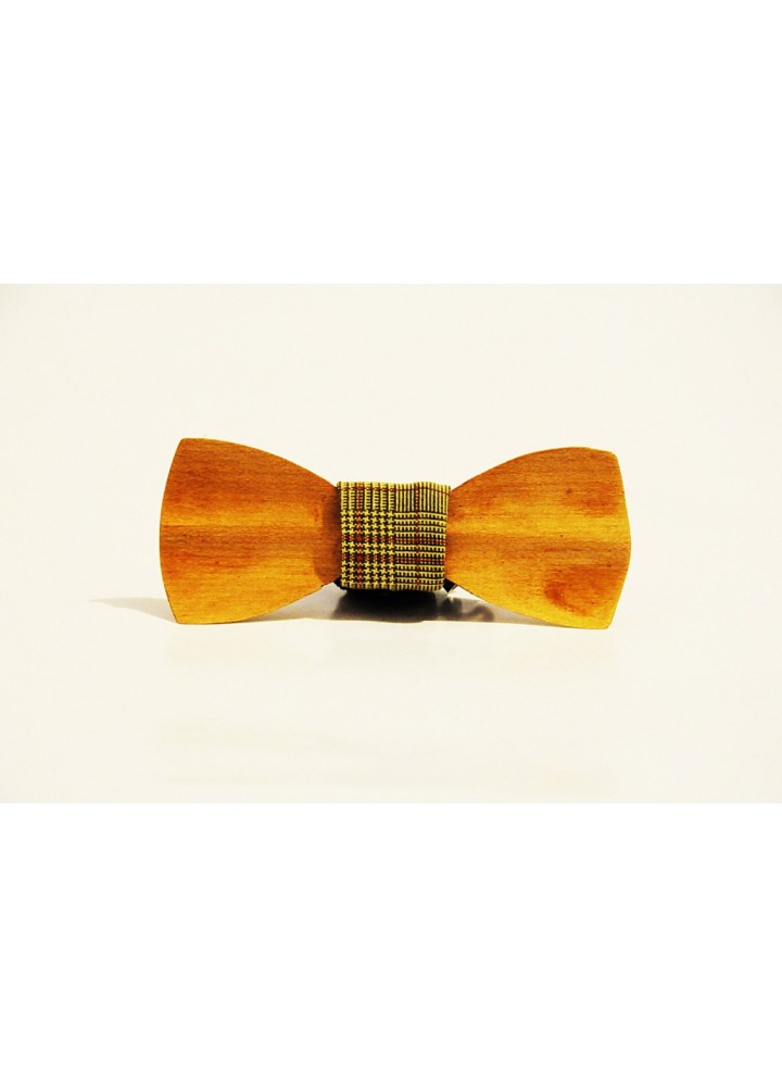 Wood bow tie carved Raimondi