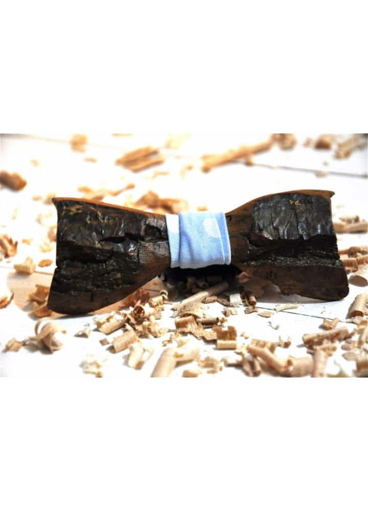 Wood bow tie carved Coriander