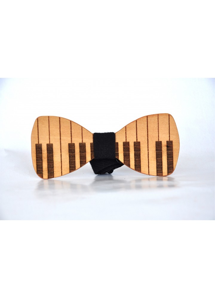 Wood bow tie Il Piano